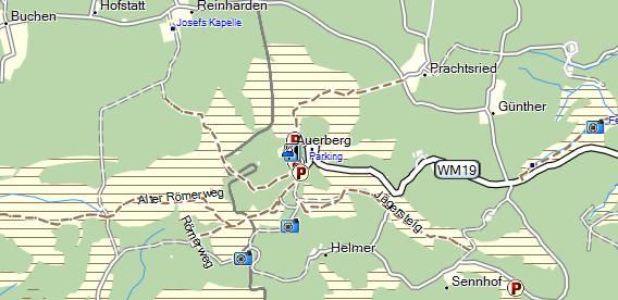 OpenStreetMap Landkarte von raumbezug