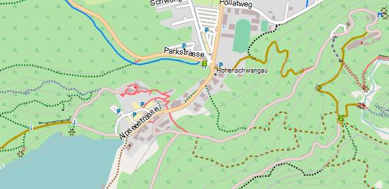 OSM Freizeitkarte von Klaus Tockloth