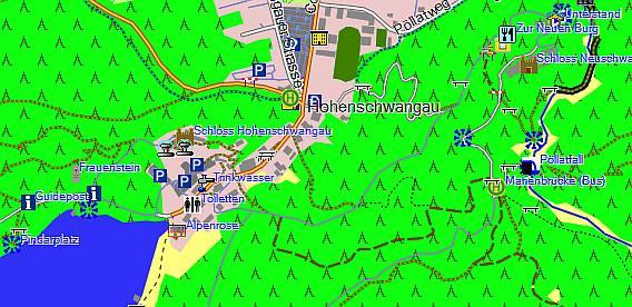 OSM Karte von User:kukuk