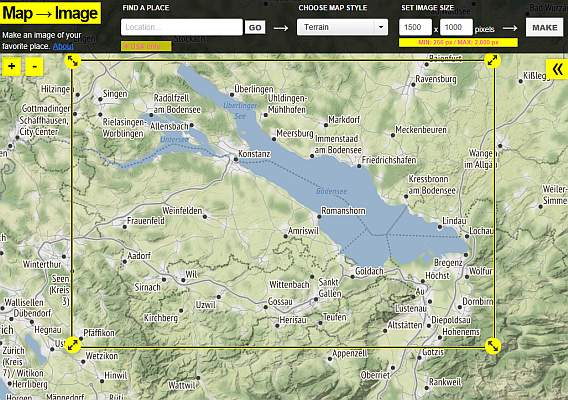 Map to Image / maps.stamen.com