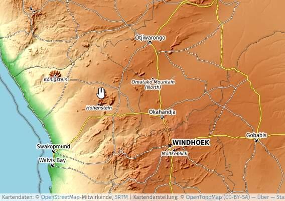 umap Online-Landkarte