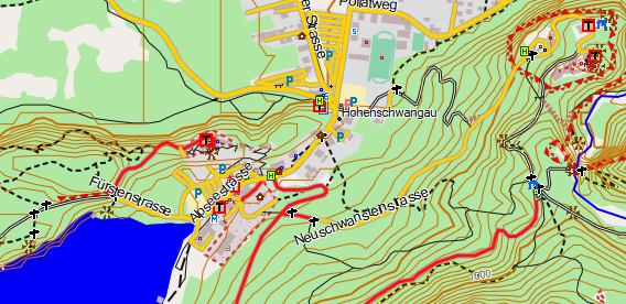 Picomaps, OSM Topo Landkarte