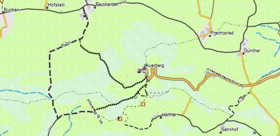 VeloMap Karte von Felix Hartmann