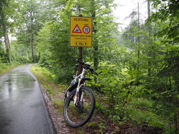 MTB Transalp tauerngold, Salzburg nach Abtenau