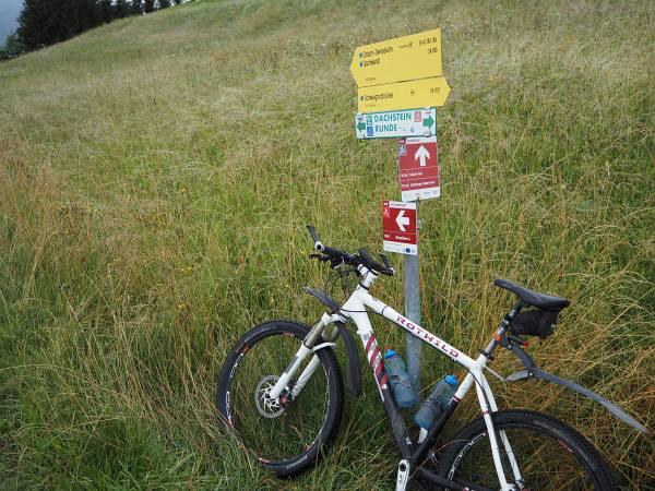 MTB Transalp Tauerngold, Etappe Dachstein