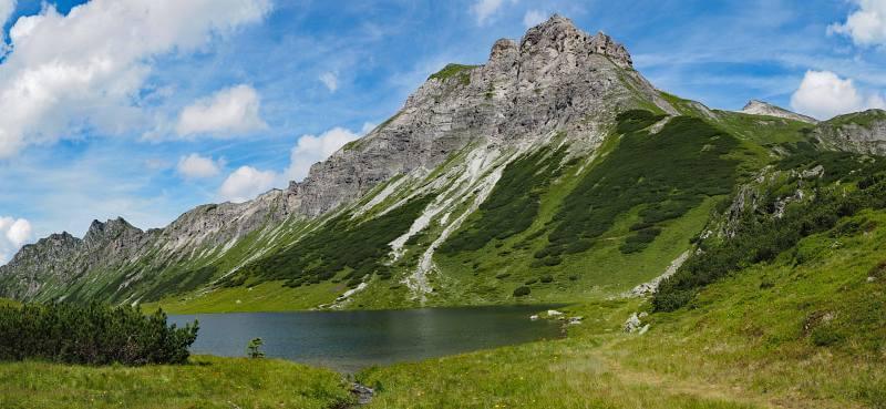 MTB Transalp Tauerngold, Bergsee am Oberhüttensattel
