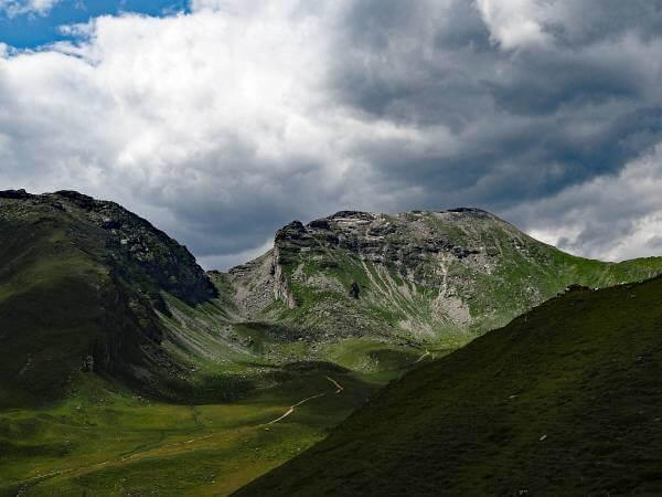 MTB Transalp Tauerngold, Bergpanorama