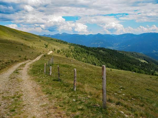 MTB Transalp Tauerngold, Auf dem Weg zur Frido-Kordon Hütte