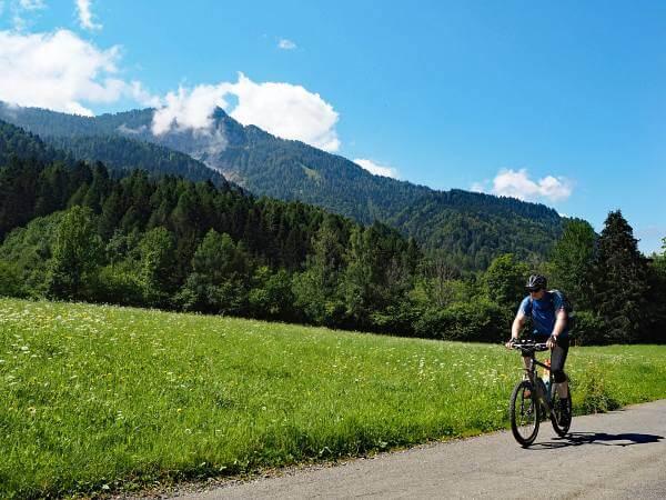 MTB Transalp, Trans Slowenien, Radweg