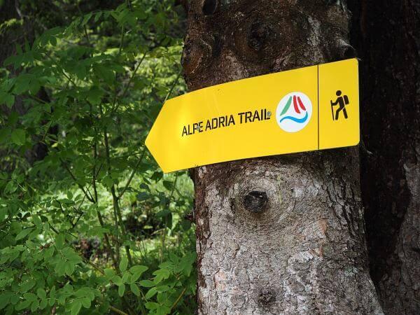 MTB Transalp Slowenien, Auf dem Alpe Adria Trail