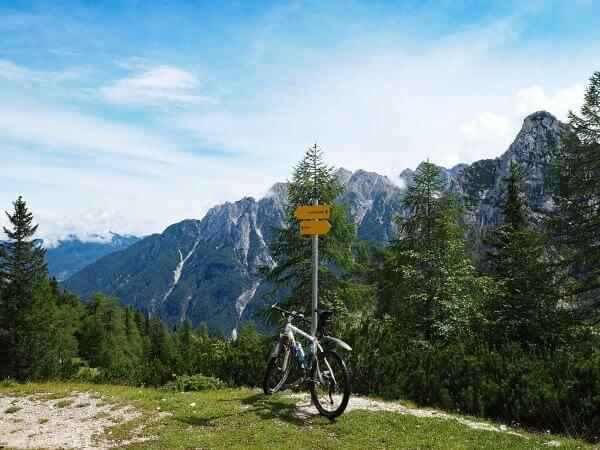 MTB Transalp Slowenien, Kurz vor dem Vrsic Pass
