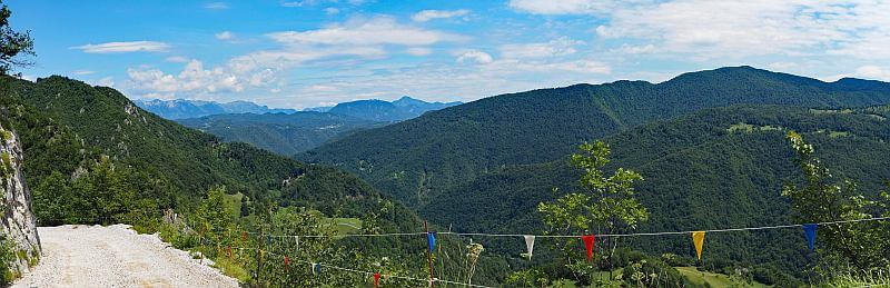 MTB Transalp durch Slowenien, Panorama