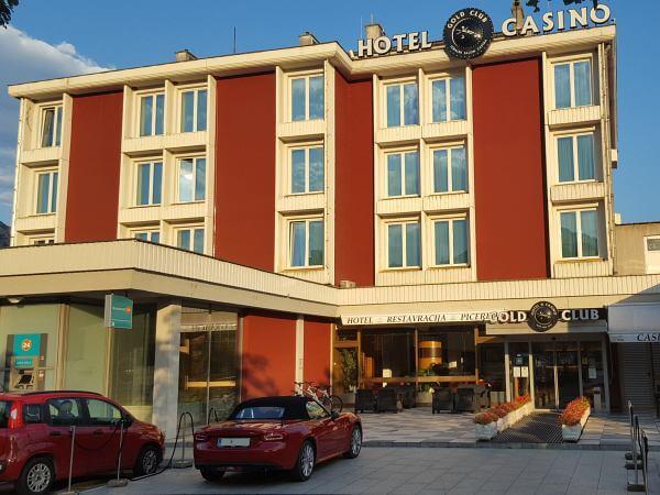 MTB Transalp durch Slowenien, von Kobarid nach Ajdovscina, Hotel Casino
