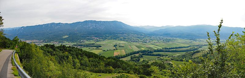 MTB Transalp nach Slowenien, Sezana