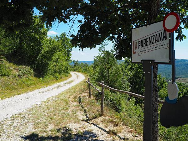 Bahntrassenradweg Parenzana, Istrien Kroatien, Historischer Radweg