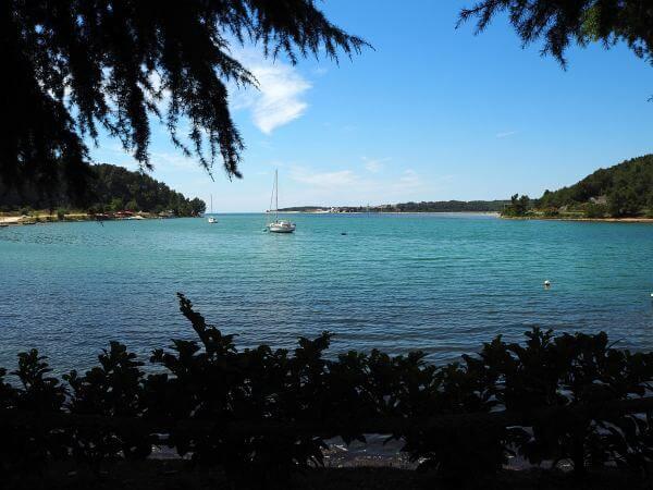 Mit dem MTB bis an die Adria, Bucht in Kroatien