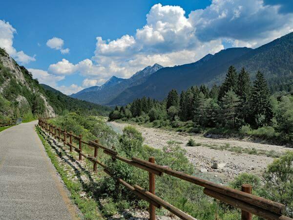 MTB Transalp Alpe Adria, Radweg nach Villach