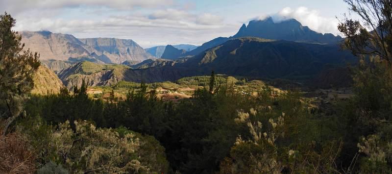 Wanderreise La Reunion, Wanderung im Mafate Talkessel