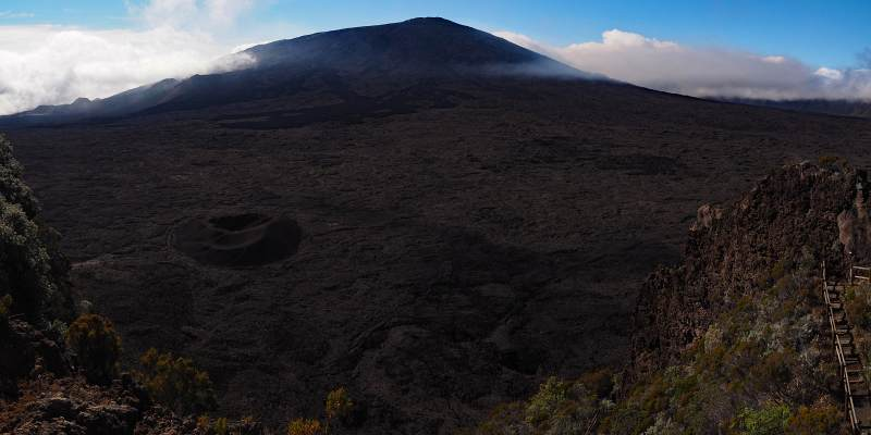 Wanderreise La Reunion, Piton de la Fournaise (2631 m)