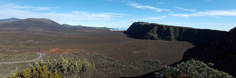 Wanderurlaub auf La Reunion, Sandwüste, Plaine des Sables