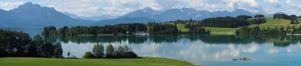 Alpencross XL 2017, Start am Forggensee
