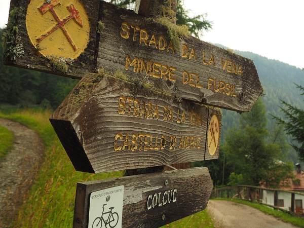 Alpencross XL 2017, MTB-Trail auf der Strada de la Vena