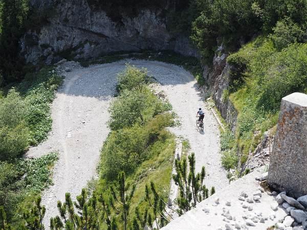 Alpencross XL 2017, Abfahrt vom Tremalzo