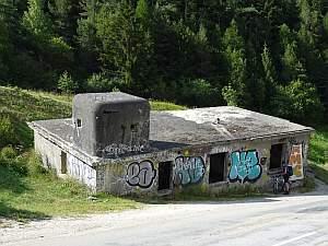 MTB Westalpencross 2018, Bunker bei Modane