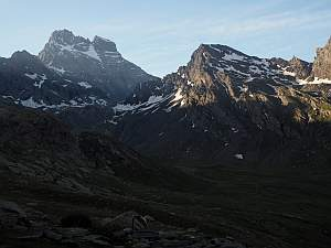 MTB Westalpencross 2018, Mont Viso, 3841 m, in den Cottischen Alpen