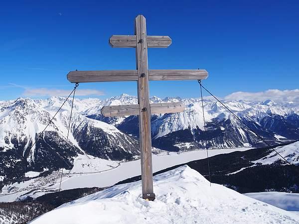 Äußerer Nockenkopf, 2769 m, am Reschensee