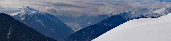 Panorama von der Planeiler Alm