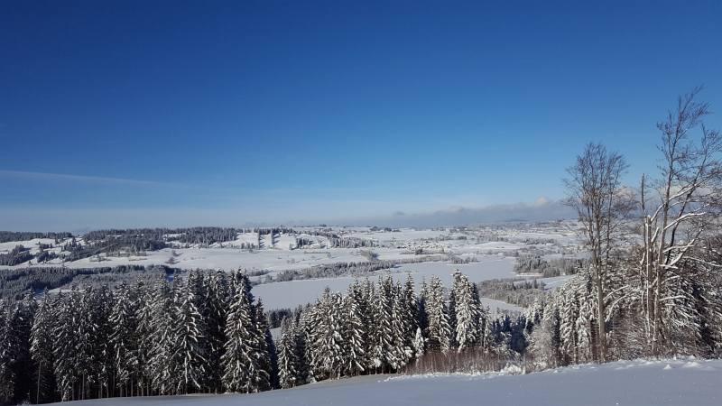 Winterwandern zur Buronhütte und Haslacher Alpe, Foto 3
