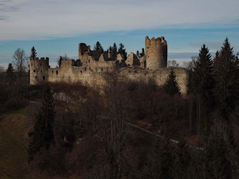 Urlaub im Allgäu, Foto 2, Burg Eisenberg und Burg Hohenfreyberg
