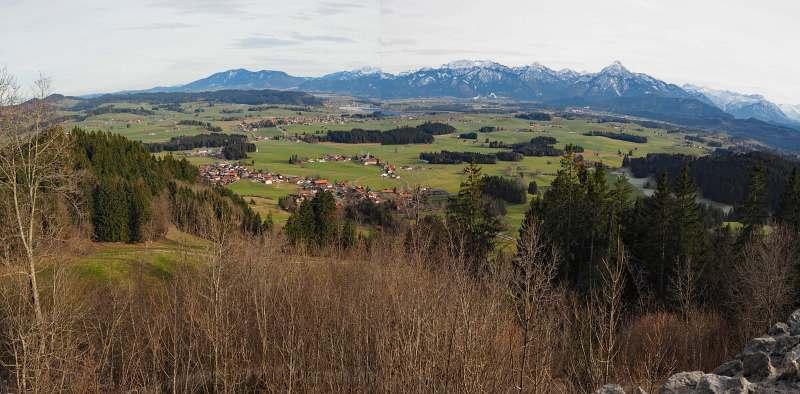 Urlaub im Allgäu, Foto 5, Panorama