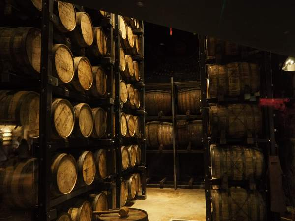 Kurzreise nach Irland, Besuch in einer Whiskey Distillery