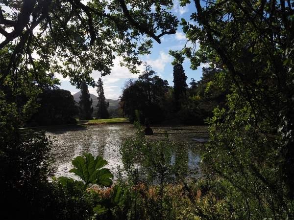 Gartenanlage in Powerscourt