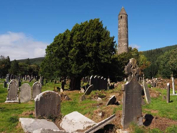 Glendalough, runder Turm