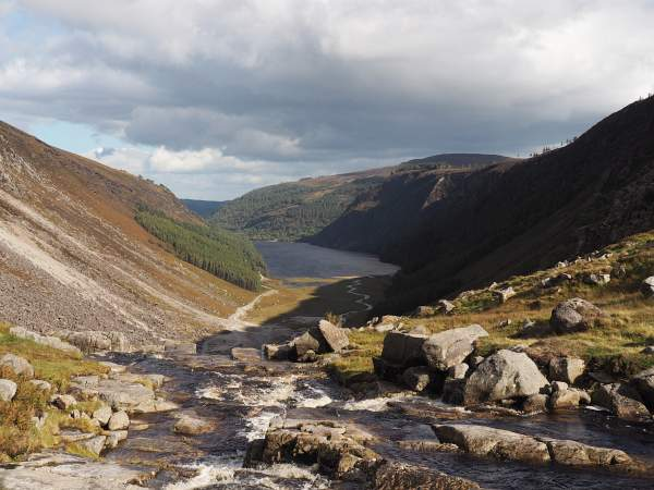Glendalough, Upper Lake