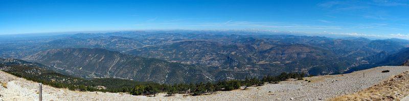 Frankreich, Foto 6, Aussicht vom Mont Ventoux