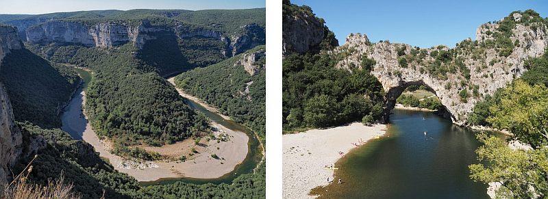 Frankreich, Foto 11, Gorges de l Ardeche und Vallon Pont d Arc