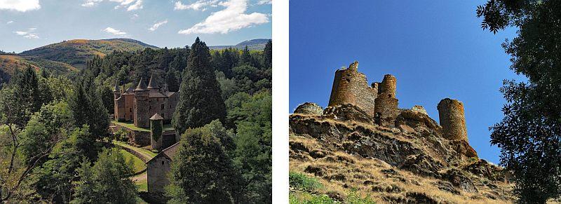 Frankreich, Foto 12, Chateau du Champ und Chateau du Tournel