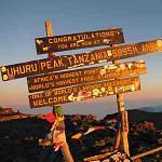 Tansania Reise, Kilimanjaro Besteigung