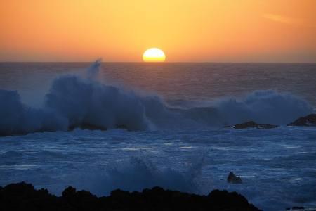 Südafrikareise 2014, Foto 14, Sonnenuntergang