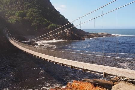 Südafrikareise 2014, Foto 16, Hängebrücke