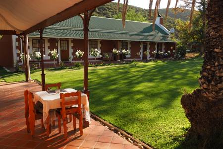 Südafrikareise 2014, Foto 20, Gästefarm bei Oudtshoorn