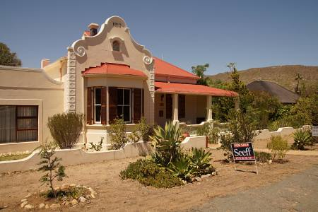Südafrikareise 2014, Foto 21, Haus in Prince Albert