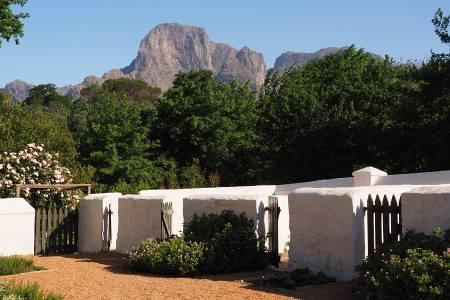 Südafrikareise 2014, Foto 29, Landschaft in der Weingegend