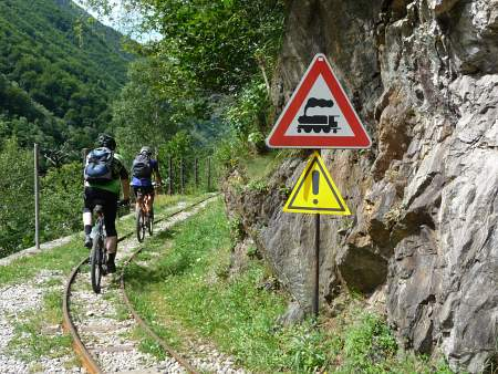 MTB Trail Tracciolino, Bild 1